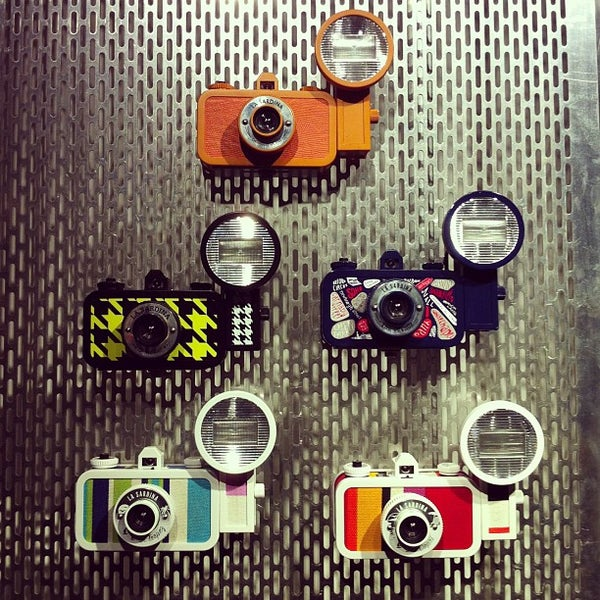 Photo taken at Lomography Gallery Store by Daniela S. on 8/19/2013