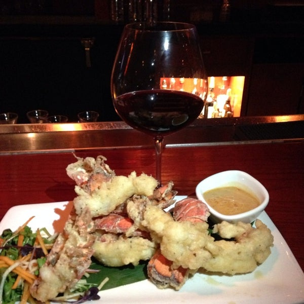 Lobster tempura is awesome!!