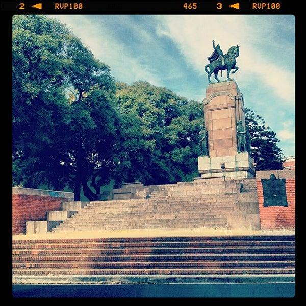 Photo taken at Plaza Francia by Roberton on 5/26/2013