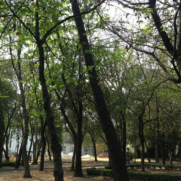 Photo taken at Bosque de Chapultepec by Gethsemani G. on 3/28/2013