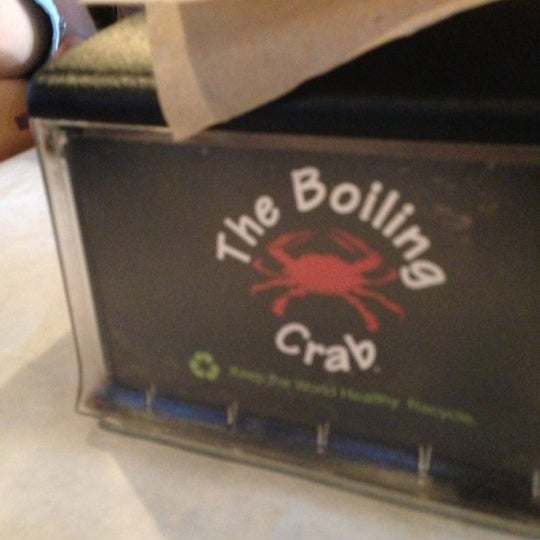Photo taken at The Boiling Crab by Clemencia on 10/6/2012