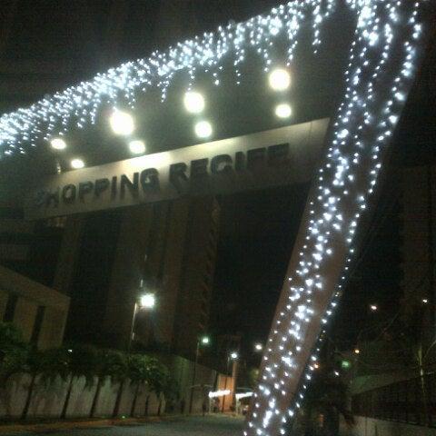 Photo taken at Shopping Recife by Ibrahim S. on 11/15/2012