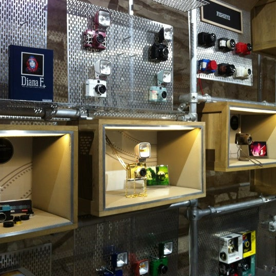 Photo taken at Lomography Gallery Store Austin by José V. on 12/20/2012