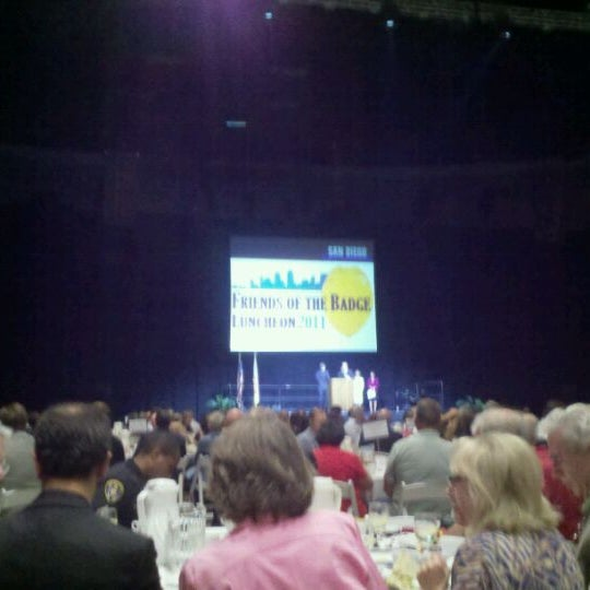 Photo taken at Valley View Casino Center by Nik S. on 9/21/2011