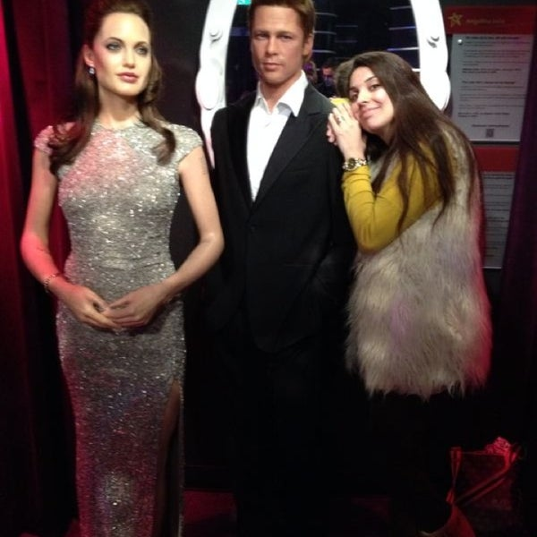 Photo taken at Madame Tussauds by Özge G. on 3/3/2014