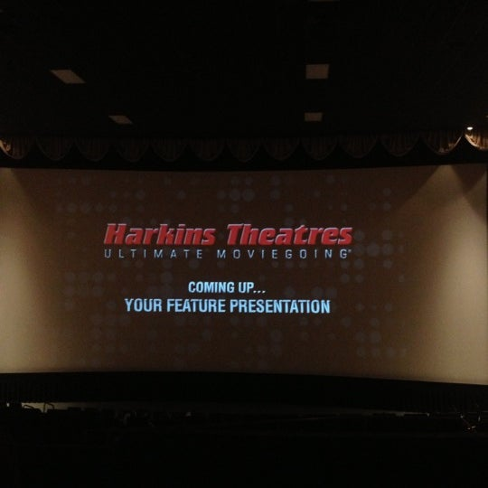 Photo taken at Harkins Theatres Tempe Marketplace 16 by Al M. on 11/2/2012