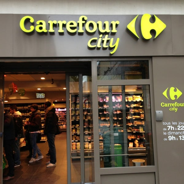 Carrefour city paris fr micourt supermarket in paris - Carrefour ouvert dimanche paris ...