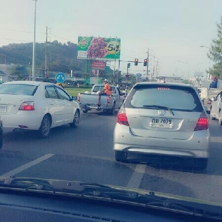 Photo taken at แยกโลตัสภูเก็ต (Lotus Intersection) by Songsak S. on 8/16/2013
