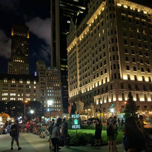 Photo taken at Grand Army Plaza by Richard C. on 8/21/2016