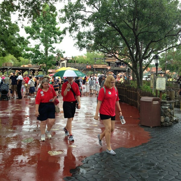 Photo taken at Frontierland by Alex L. on 6/10/2013