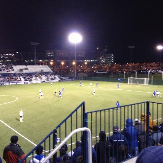 Photo taken at Jeffrey Field by Matt C. on 11/24/2012