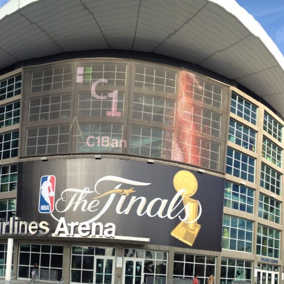Photo taken at American Airlines Arena by Hernan I. on 7/5/2013