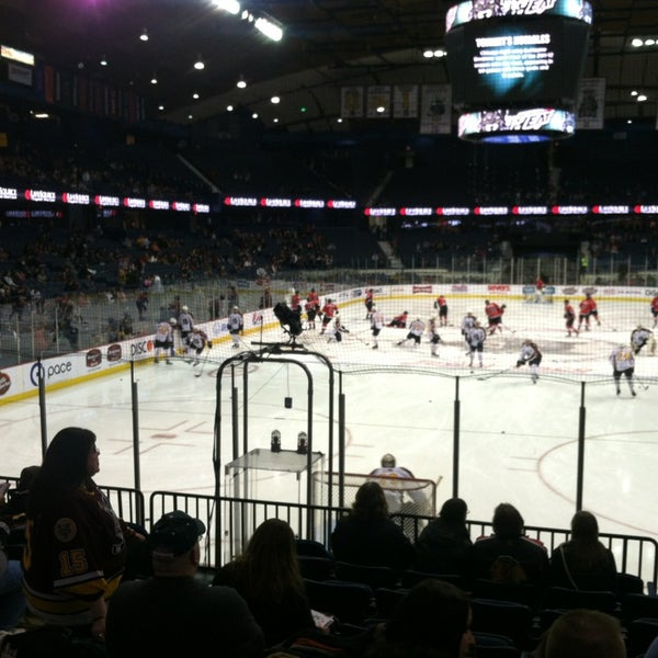 Photo taken at Allstate Arena by Patrick on 1/12/2013