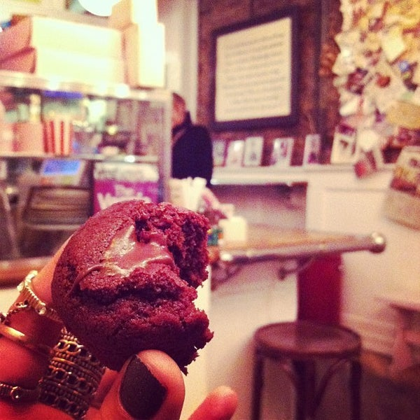 Photo taken at Erin McKenna's Bakery by The Inspired Word NYC on 11/20/2012