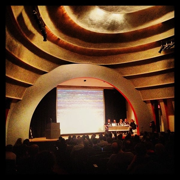 Photo taken at The New School Auditorium at 66W 12th by Caroline P. on 11/2/2013
