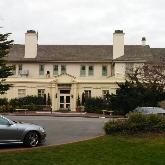 Photo taken at The Lodge at Pebble Beach by Cory D. on 1/11/2014