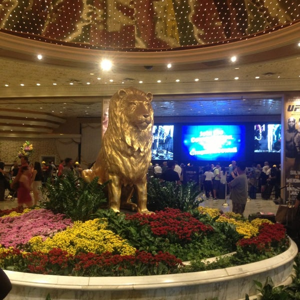 Photo taken at MGM Grand Hotel & Casino by Muhannad on 7/1/2013