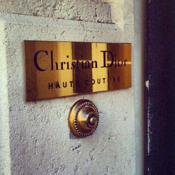 Photo taken at Christian Dior by Elizabeth on 2/22/2013