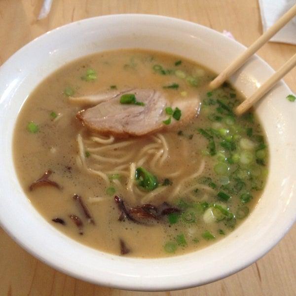 Photo taken at Samurai Noodle by Larissa on 4/19/2014