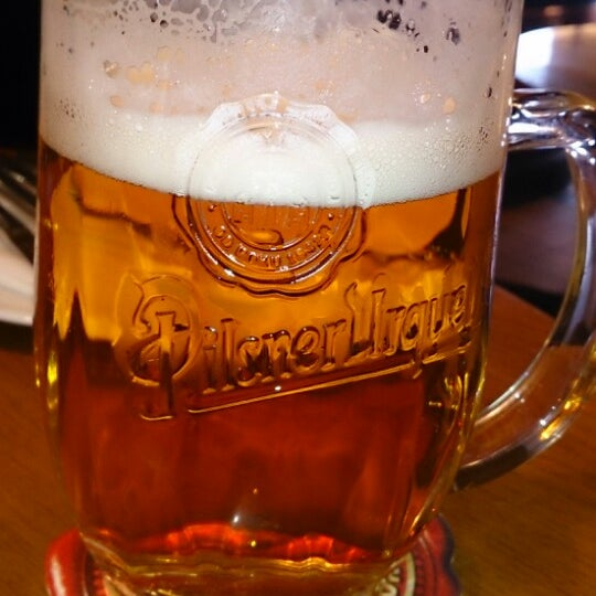 Photo taken at Kulaťák Pilsner Urquell by Václav T. on 4/10/2013
