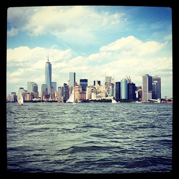 Photo taken at New York Harbor by Bobby Berk on 6/9/2013