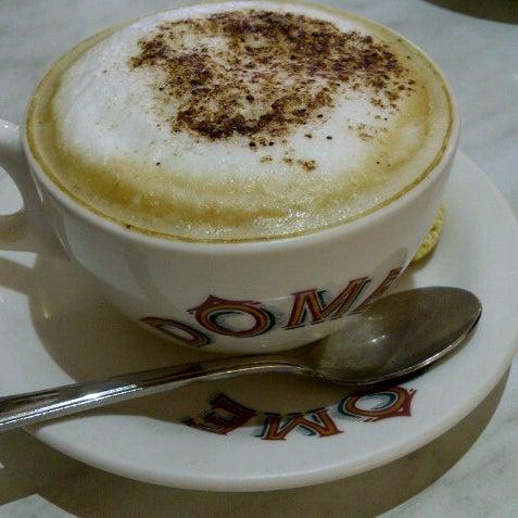 Photo taken at Dôme Café by Bertha S. on 1/2/2013