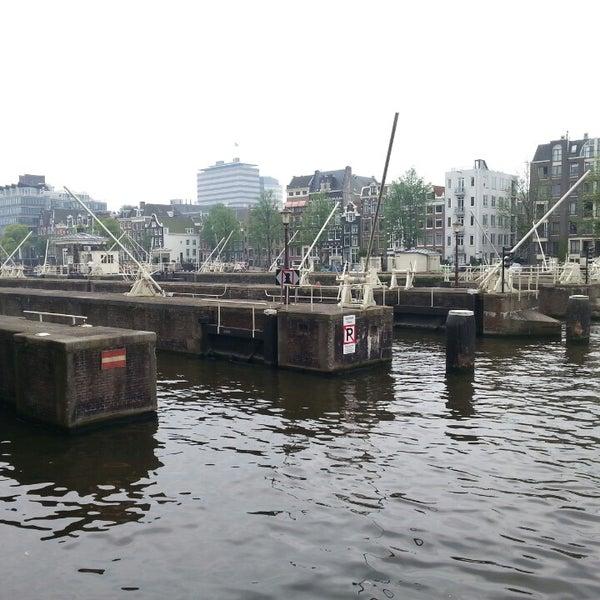 Photo taken at Amstelsluis by Noiram H. on 8/25/2013