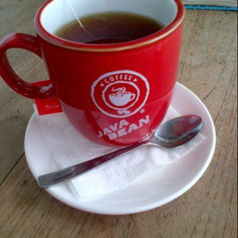 Photo taken at JAVA BEAN Coffee & Resto by vivi alifia on 1/18/2014