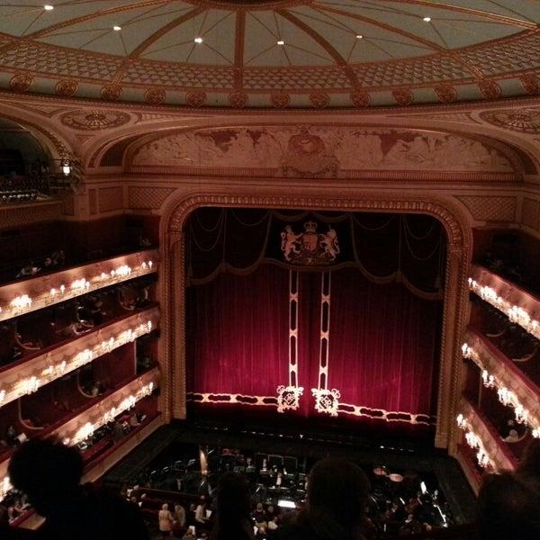 Photo taken at Royal Opera House by Stefanie W. on 6/1/2013