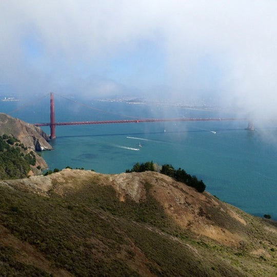 Photo taken at Vista Point by Mario on 10/8/2012