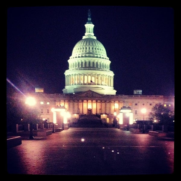 Photo taken at United States Capitol Building by Brice on 4/19/2013