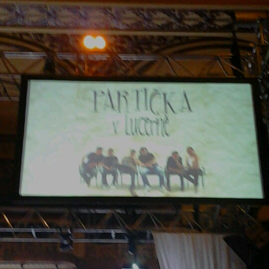 Photo taken at Palác Lucerna by Klárka P. on 12/2/2012