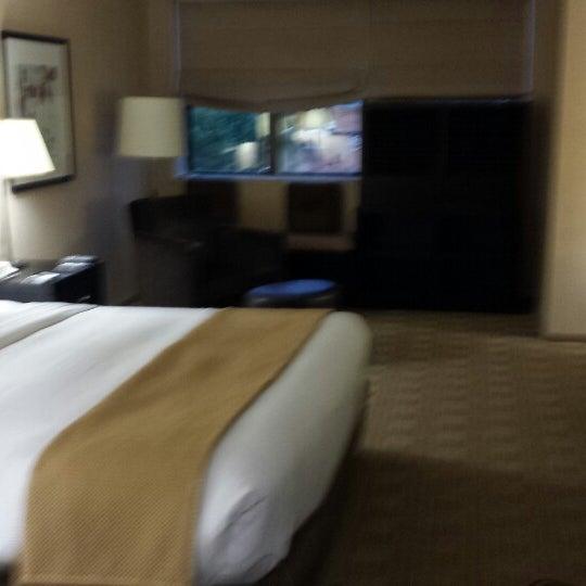 Photo taken at The Saratoga Hilton by Carmen L. on 8/2/2013