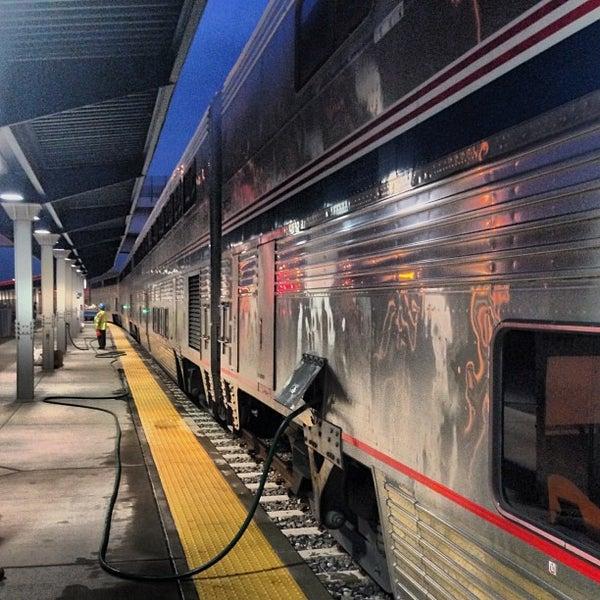 Photo taken at Denver Amtrak (DEN) by Daniel Eran D. on 8/18/2013