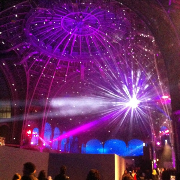 Photo taken at Grand Palais by Arthur B. on 12/21/2012