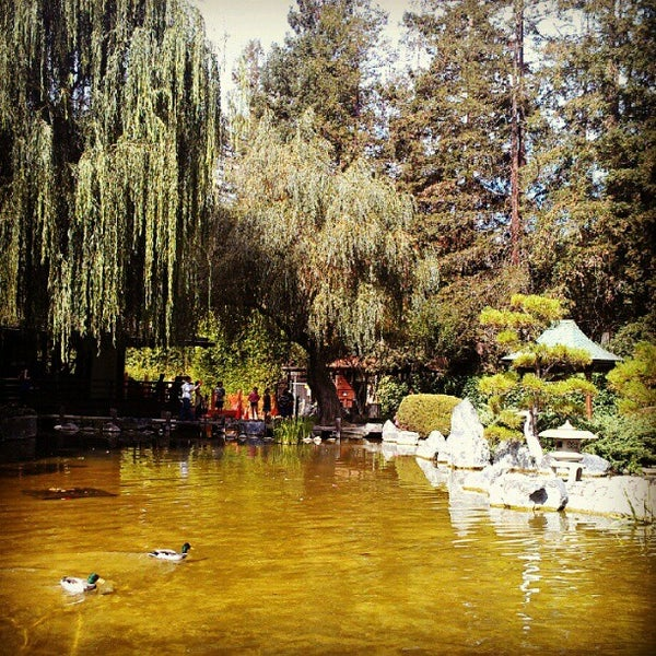 Photo taken at Japanese Friendship Garden by Allen H. on 9/24/2012