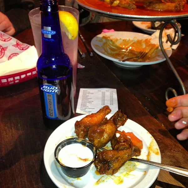 Photo taken at Alondra Hot Wings by Jon S. on 2/21/2013