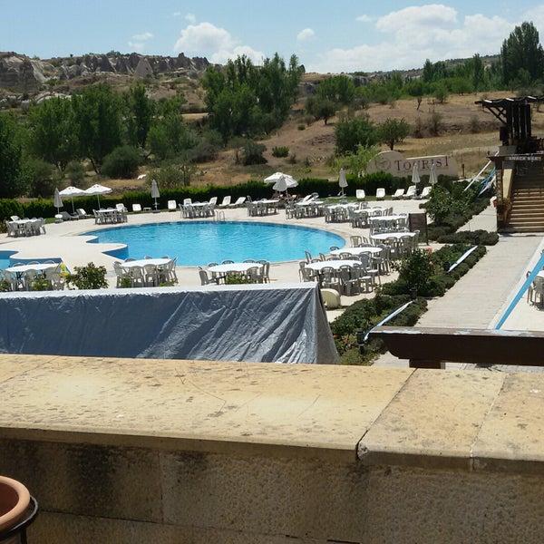 8/5/2017 tarihinde Dilara Y.ziyaretçi tarafından Tourist Hotels & Resorts Cappadocia'de çekilen fotoğraf