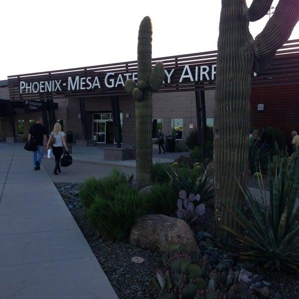 Photo taken at Phoenix-Mesa Gateway Airport (AZA) by Janet J. on 4/14/2013