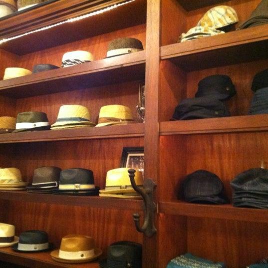 Photo taken at Goorin Bros. Hat Shop by Ne C. on 12/2/2012