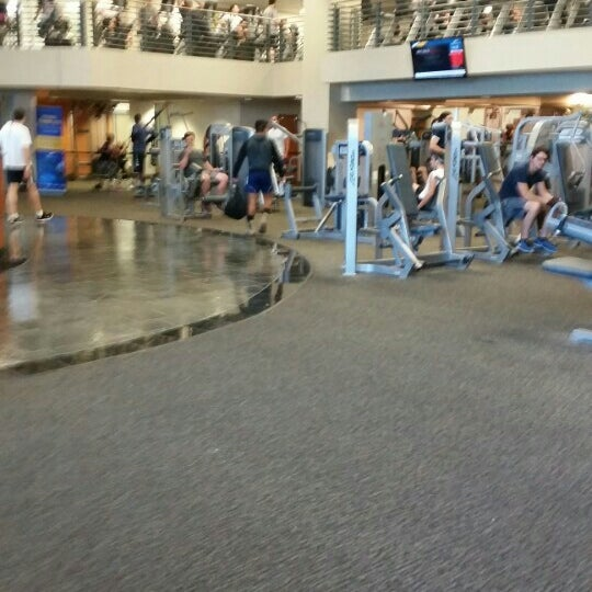 Photo taken at LA Fitness by Joseph R. on 6/30/2015
