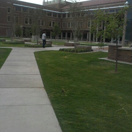 Photo taken at TTU - Rawls College of Business by Hunter G. on 9/27/2012