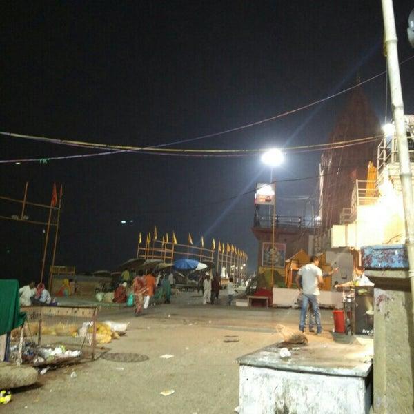 Photo taken at Dasaswamedh Ghat by Apoorva P. on 10/24/2015