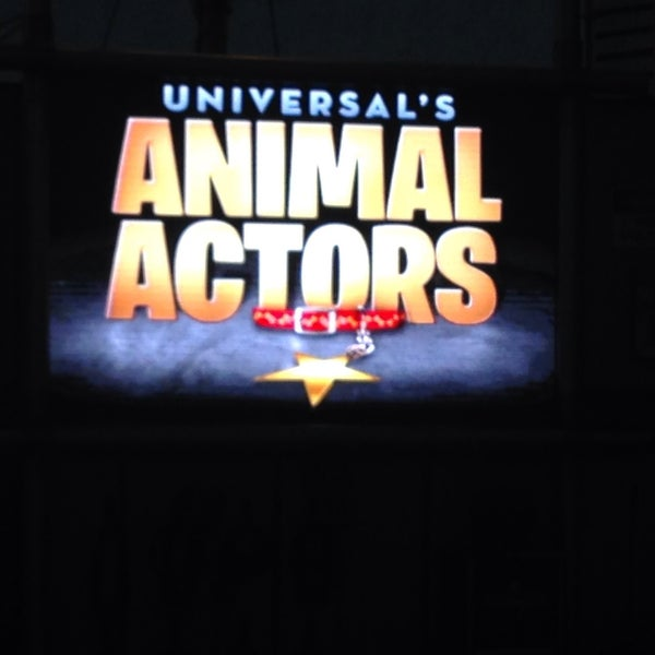 Photo taken at Universal's Animal Actors by Sinem A. on 11/13/2015