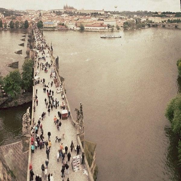 Photo taken at Charles Bridge by Jose Maria C. on 6/18/2013
