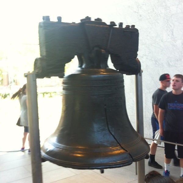Photo taken at Liberty Bell Center by Sarah S. on 6/19/2013