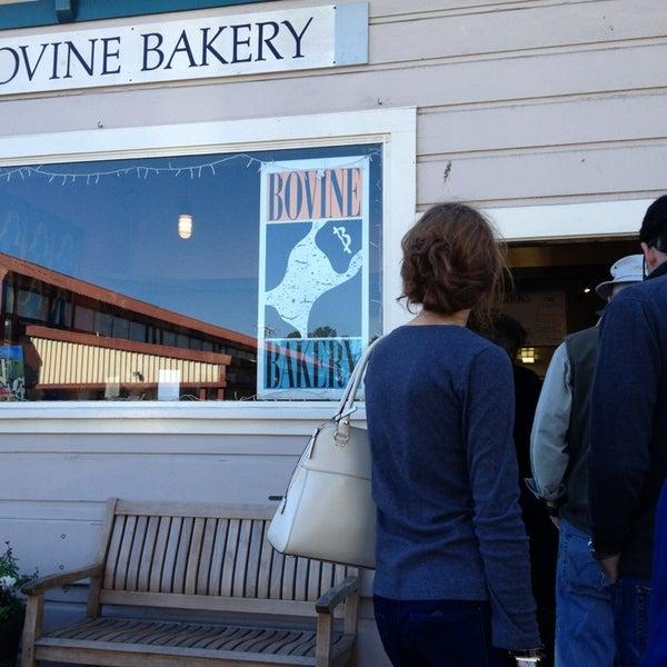 Photo taken at Bovine Bakery by Gigi S. on 1/21/2013
