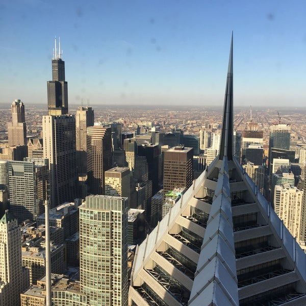 Photo taken at Aon Center by Dmytro K. on 3/4/2016