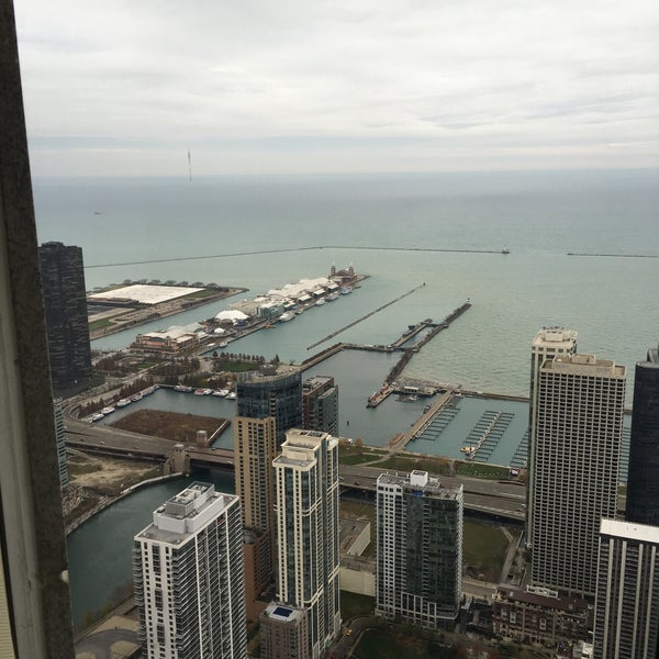 Photo taken at Aon Center by Dmytro K. on 11/17/2015