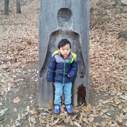 """Photo taken at Yuldong Park by Dongwook """"James"""" K. on 11/17/2012"""